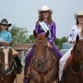 Bailey Goodin, Katie Jo Blanscet and Mikayla Graham earned rodeo queen titles in the month of June.