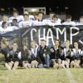 Henrietta's eighth grade Bearcats finished the 2012 season Thursday night at 8-0 after a 42-0 shellacking of Nocona.