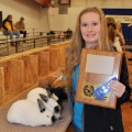 Grand Champion Meat Rabbit Pen — Devon Cassetty, Bellevue FFA