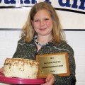 Foods Junior Grand Champion — Haleah Harmon, Henrietta 4-H