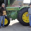 Grand Champion Ag Mechanics — Jared Richardson and Will Morath, Petrolia FFA, 1945 John Deere D
