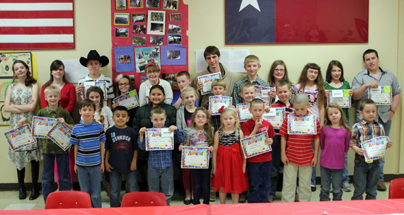 Midway PTA honored participants in the Reflections program with an awards banquet.