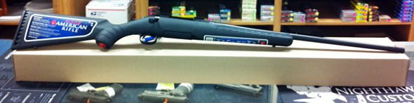 A 243-caliber Ruger American rifle is one of four items to be given in a drawing held during Saturday.