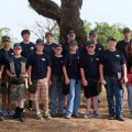 The Clay County 4-H Trap Shooting Team competed at the district meet in Iowa Park on Saturday, May 18. Fourteen 4-H members participated in the event.