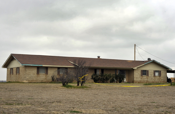 The home on FM 2332 were Jose Ramirez was shot and killed. His remains were found in February 2012 in a shallow grave on the property.