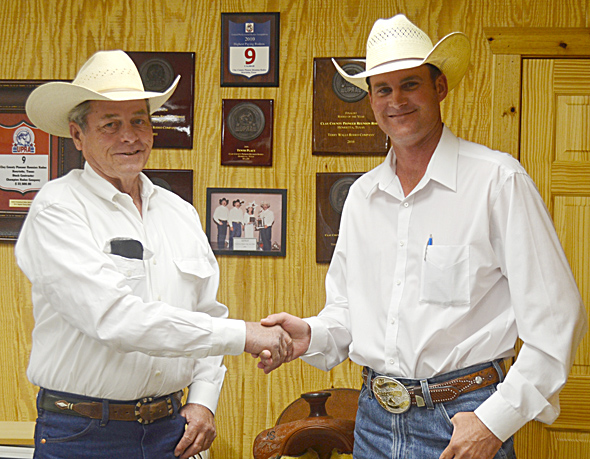 Michael Sanderson of Henrietta succeeds Doug Vicars of Friendship as chairman of the Nine Man Board.
