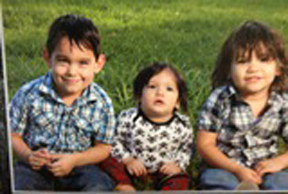An Amber Alert for Liam McIntosh, 5, Korbin Peralez, 1, and Marshall Peralez, 3, of Houston, was canceled Wednesday morning after the children were located in Wichita Falls.