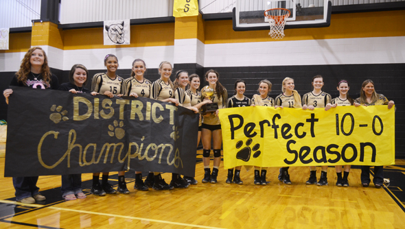 District champion Henrietta Lady Cats