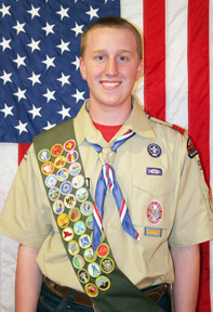 Eagle Scout Luke Brock