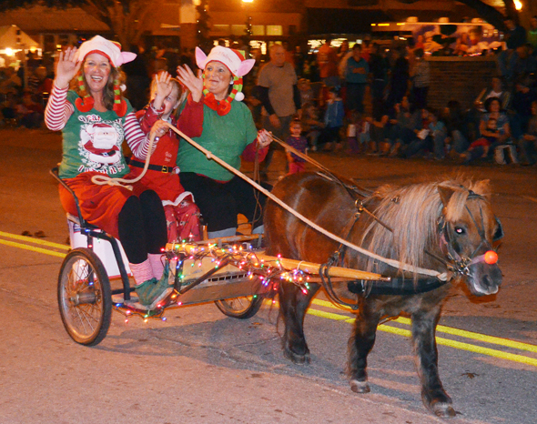 The Clay County Christmas lighted parade and activities have been canceled du to inclement weather.