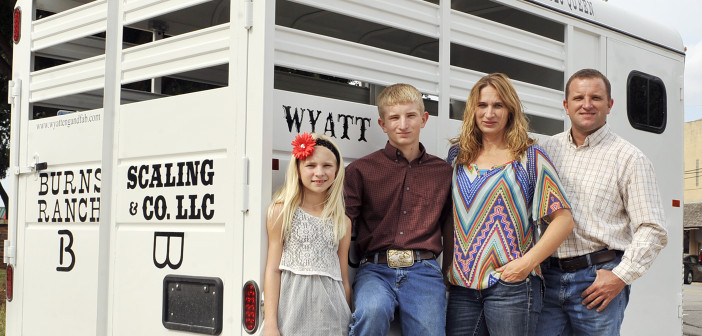 Rodeo queen's prize trailer built by Deer Creek manufacturer