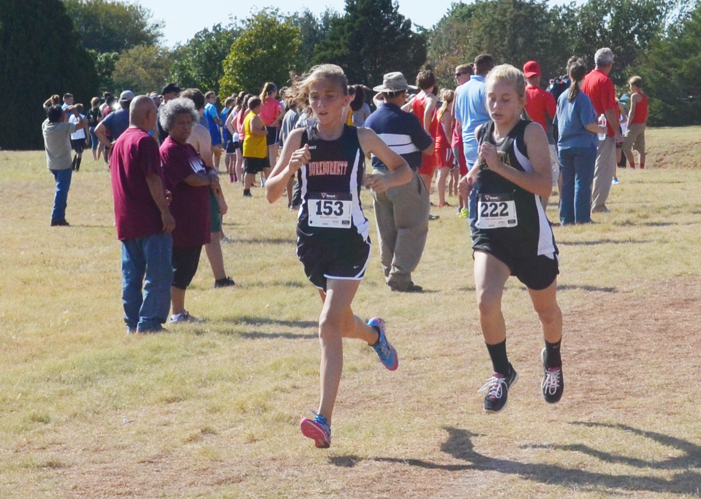 Henriettas Kylee Halter Races To The Finish During Wichita Falls Cross Country Invitational On Oct 2 Placed 11th In Race