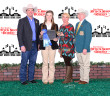 Macey Baber, a member of the Henrietta FFA, earned a $16,000 scholarship through the Fort Worth Stock Show's Beef Challenge.