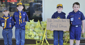 Scouts Food Drive